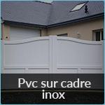 Les Clôtures D039Armor PVC SUR CADRE INOX